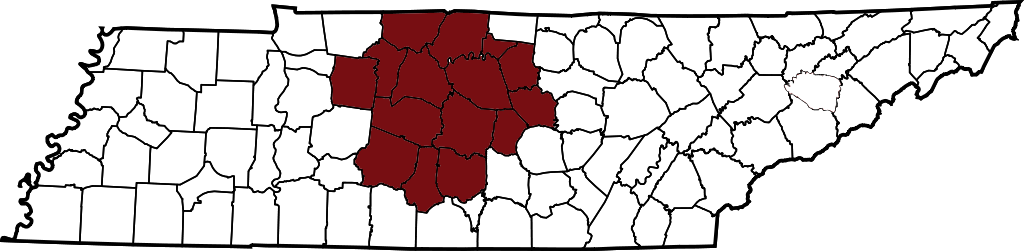 Map of Tennessee2